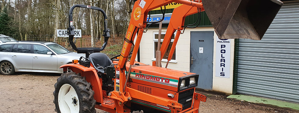 Hinomoto Compact Tractor With Loader | Large Tractor With Loader E2304
