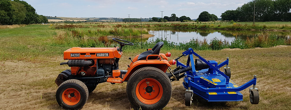 B4200D Kubota Compact Tractor  | Used Compact Tractors For Sale UK