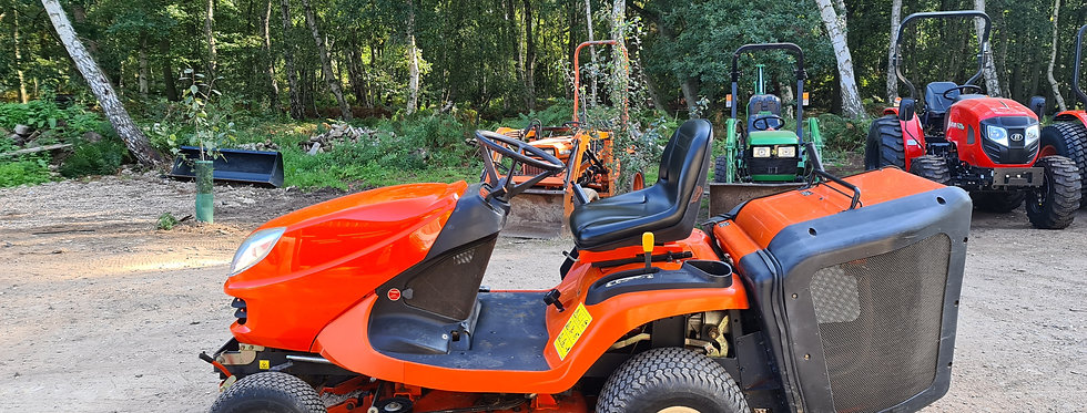 KUBOTA GR1600 ID RIDE-ON MOWER