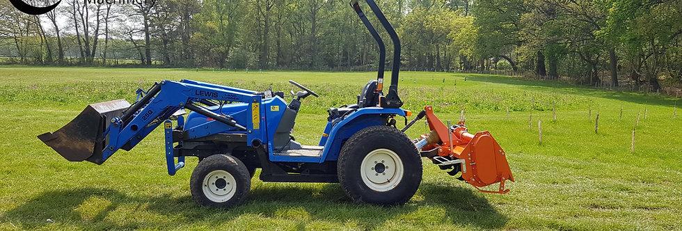 FarmMaster Heavy Duty Compact Tractor Rotavator HRT-150 1.5m wide