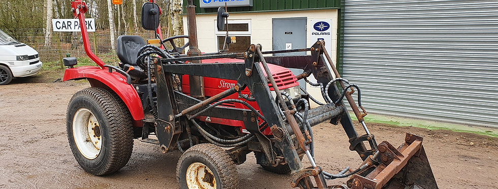 Siromer Compact Tractor 200E  with Front Loader 4 in 1 Bucket