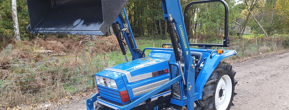 Iseki Compact Tractor With Loader | Large Tractor With Loader TA262