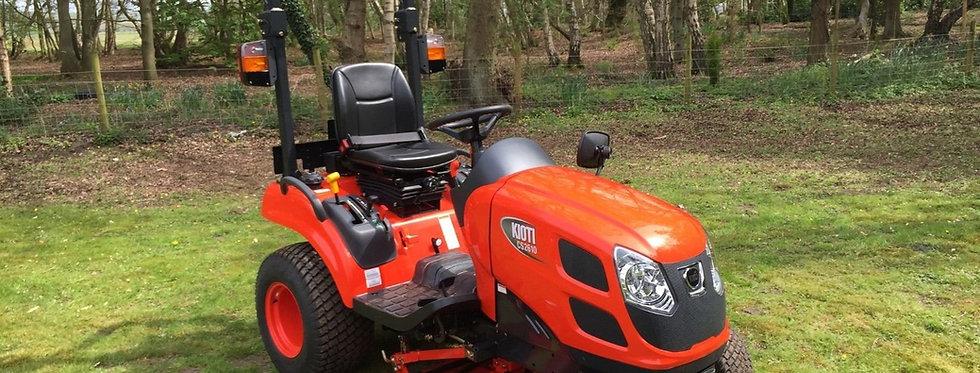 Kioti Tractor CS 2510 HST + Tractor Mower | Compact Tractors For Sale UK