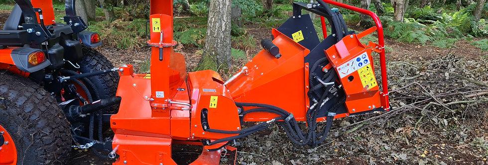 Heavy Duty Tractor Mounted Wood Chipper