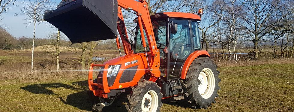 KIOTI TRACTOR RX6010 | COMPACT TRACTOR