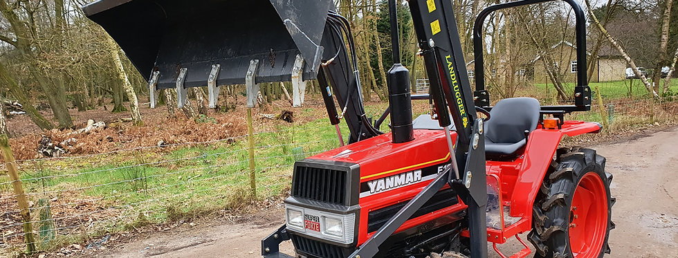 Yanmar Compact Tractor F18D 4WD with Front Loader
