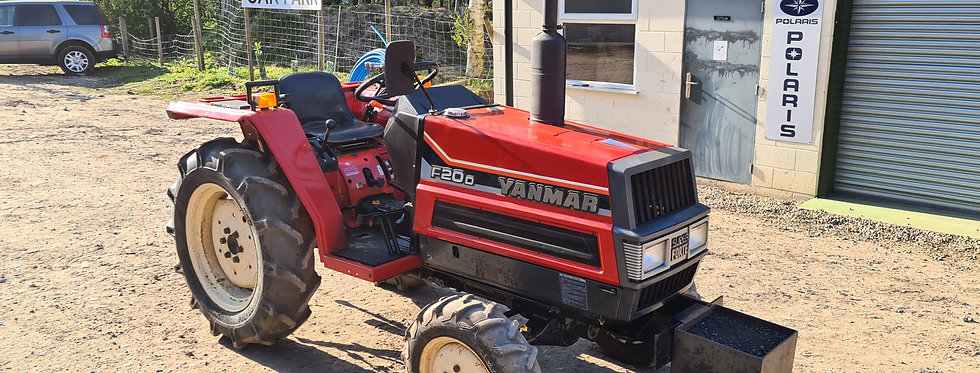 Yanmar Compact Tractor F20D 4WD