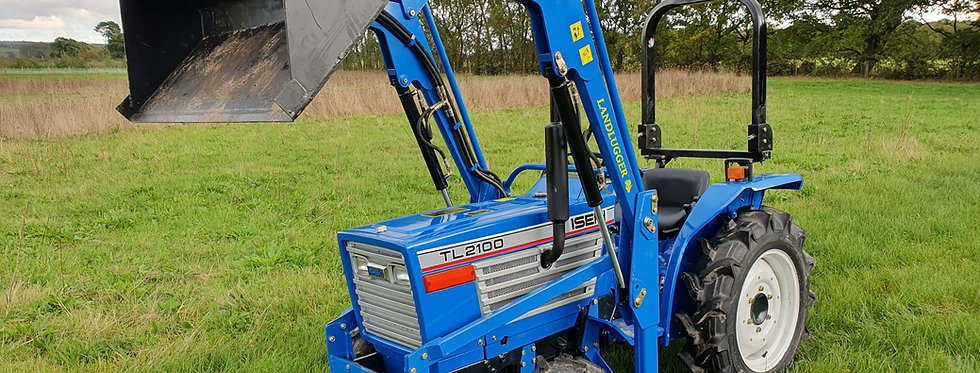 Iseki Compact Tractor TL2100 4WD with Front Loader