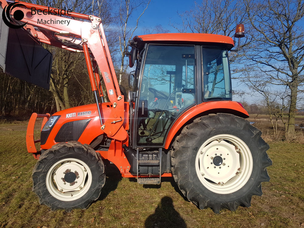 The Kioti Compact Tractor and Sub Compact Tractor RX6010