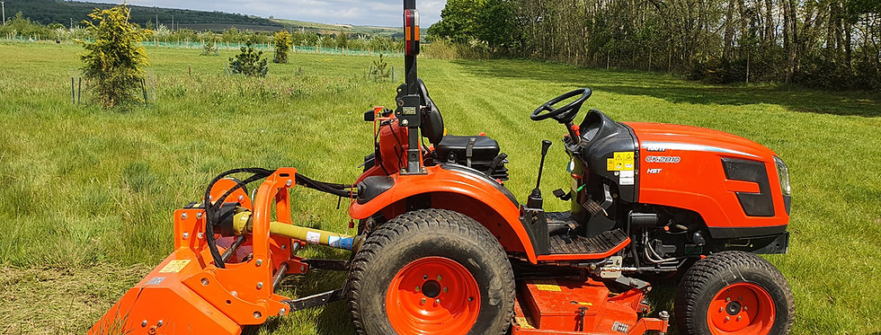 SHFL115 Hydraulic Side Shift Flail Mower | Offset Flail Mower