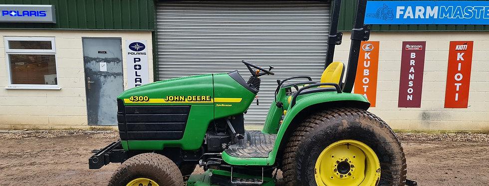 """4300 John Deere Compact Tractor with 60"""" Tractor Mower"""