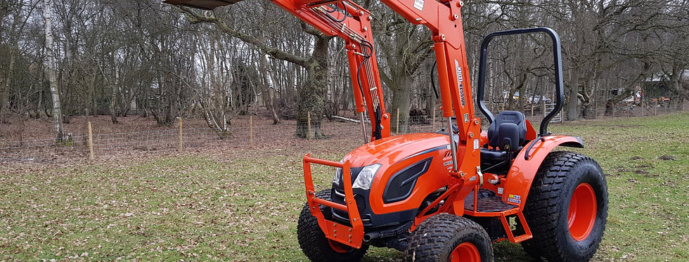 Large Kioti Tractor DK5510 4WD Hydro Shuttle | Compact Tractors For Sale UK