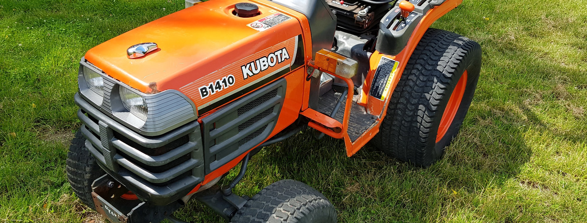 Kubota Compact Tractor B1410D   Compact Tractors For Sale UK