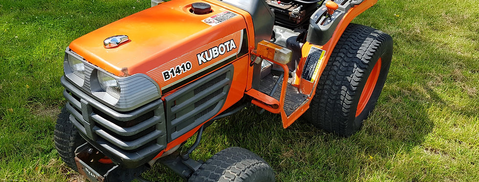 Kubota Compact Tractor B1410D | Compact Tractors For Sale UK