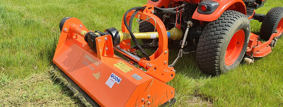 SHFL125 Hydraulic Side Shift Flail Mower | Offset Flail Mower