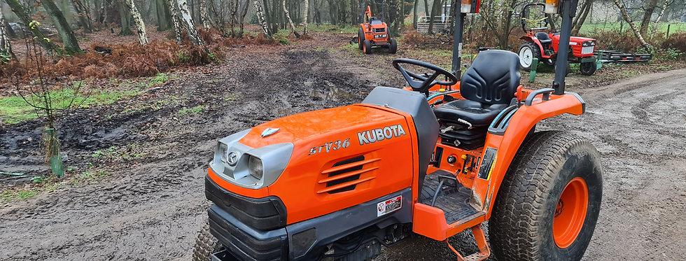 Kubota Compact Tractor STV36 HST 36HP