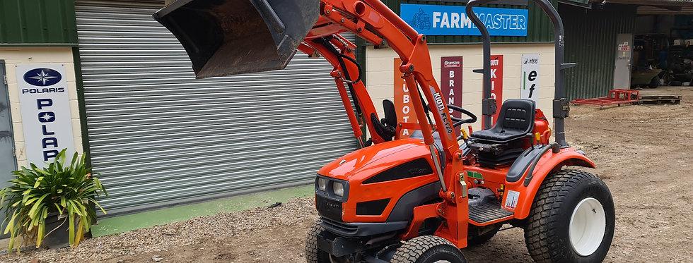 Kioti Compact Tractor CK20 Kioti Front Loader