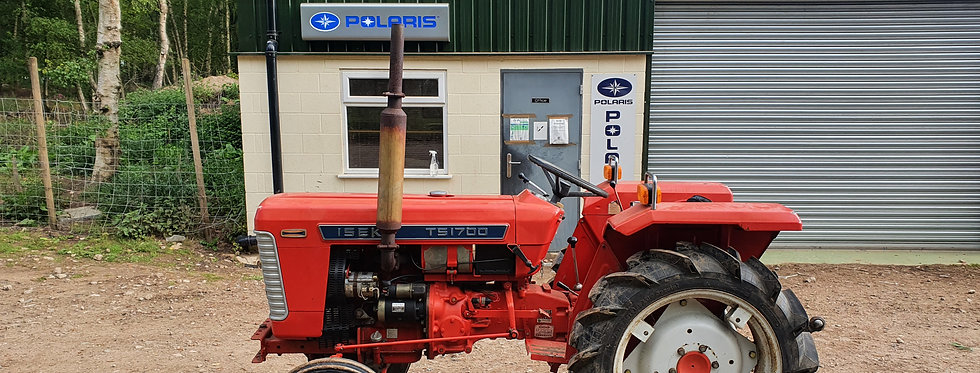 Iseki Compact Tractor 4WD TU1700