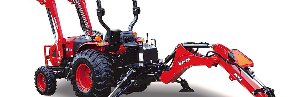 F50R Branson Compact Tractor + Tractor Loader + Compact Tractor Backhoe