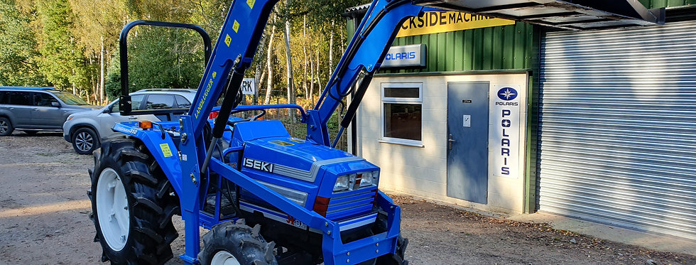 Iseki Compact Tractor With Loader | Large Tractor With Loader TA312
