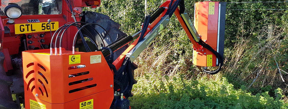 HHFL-800 Compact Tractor Hedge Cutter | Compact Tractor Attachments UK