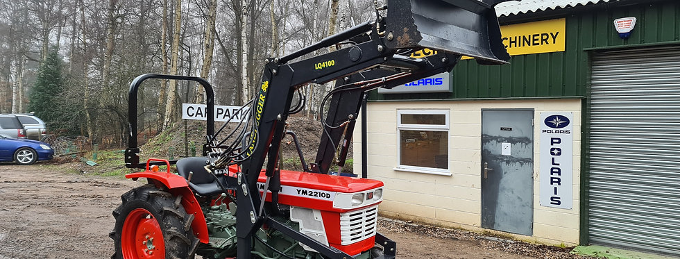Yanmar Compact Tractor YM2210 4WD with 4 in 1 Front Loader