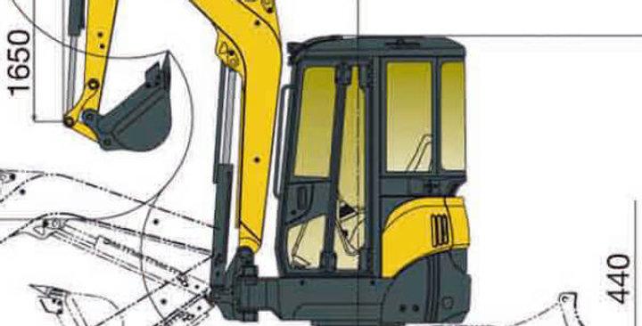 ViO38 Series Yanmar Mini Excavator