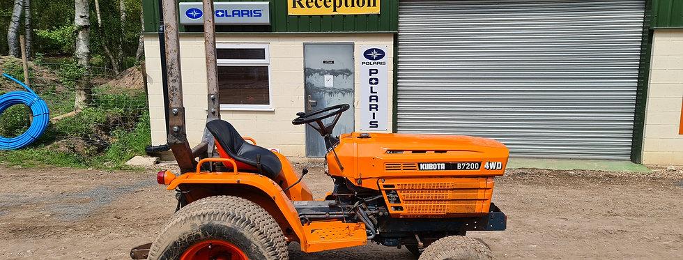 B7200 Kubota Compact Tractor For Sale