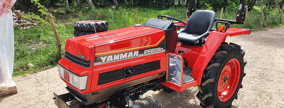 Yanmar Compact Tractor for sale FF205D 4WD