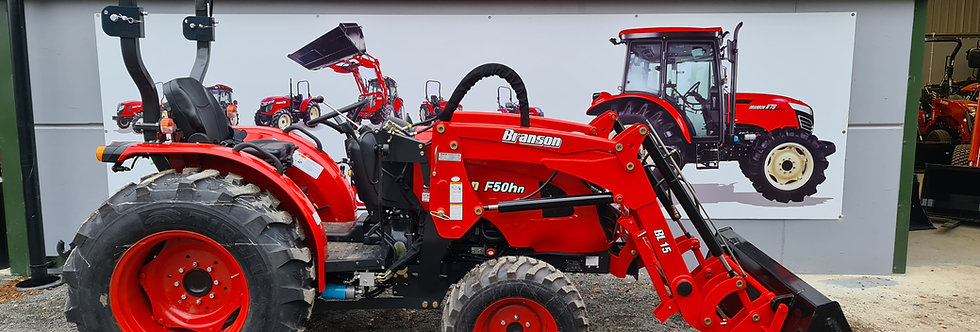 F50R Branson Compact Tractor + Tractor Loader