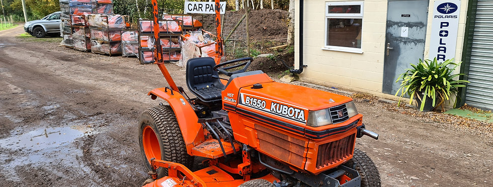 Kubota Compact Tractor B1550 18HP HST | Compact Tractors For Sale UK