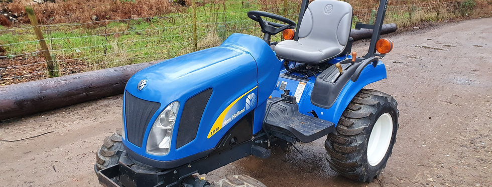New Holland Compact Tractor T1110 HST  Tractor On Industrial Tyres