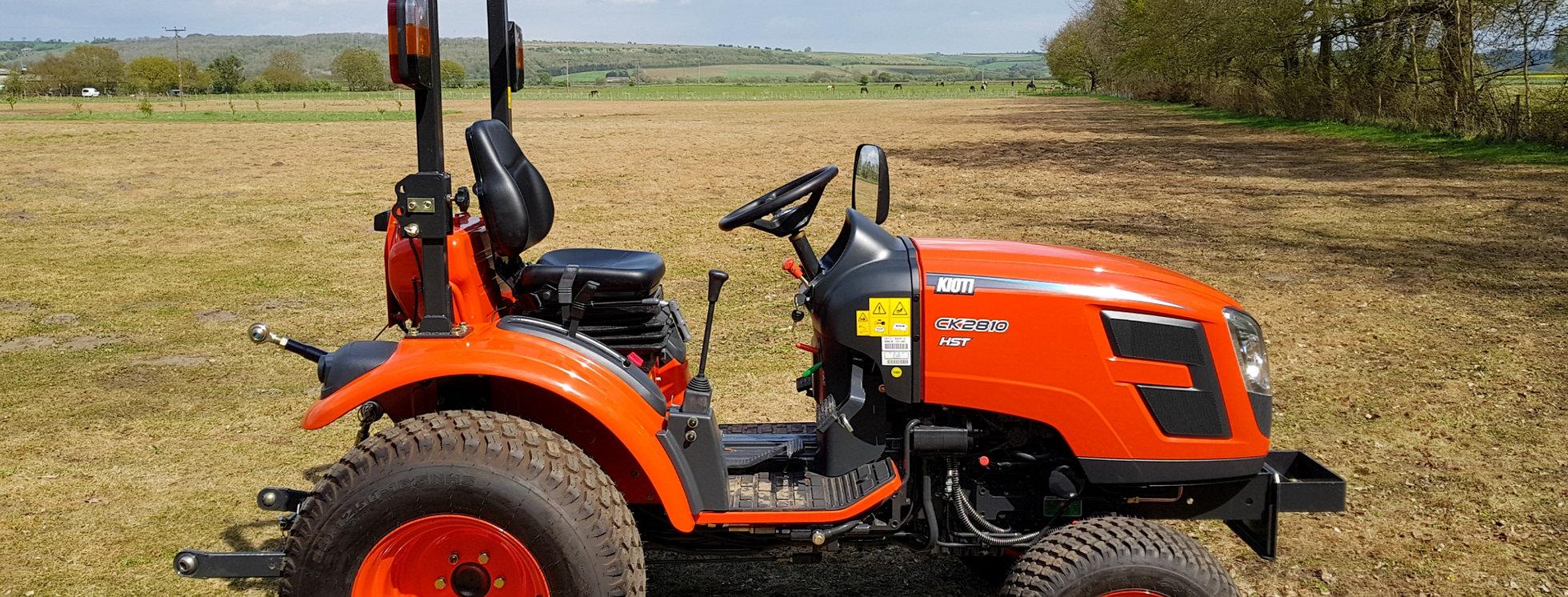 Kioti 28 hp tractor