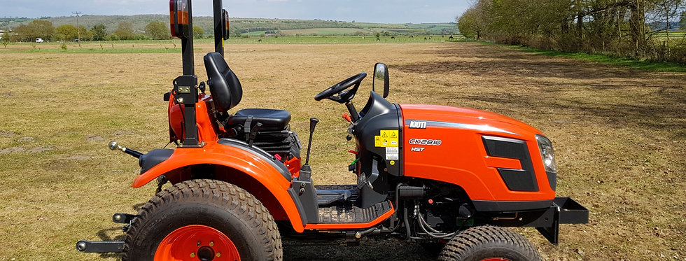 Kioti CK2810 Hydrostatic Compact Tractor For Sale UK