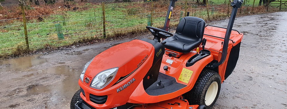 GR2120 KUBOTA RIDE ON MOWER