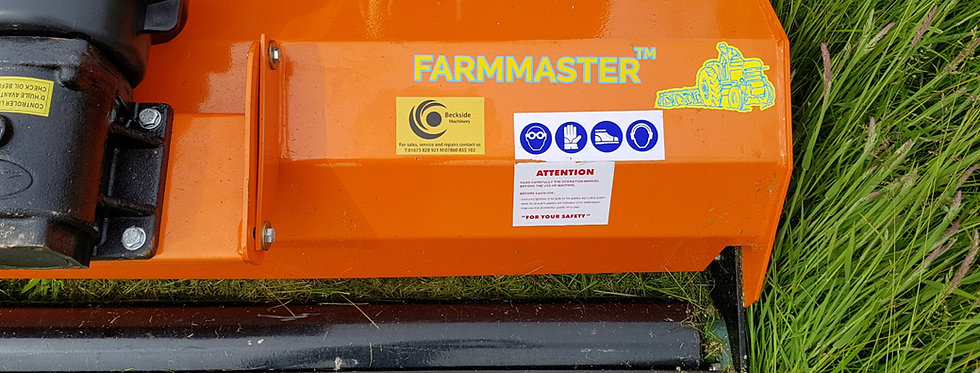 FL125H FARMMASTER 1.25m Flail Mower For Sale (With Hammers)