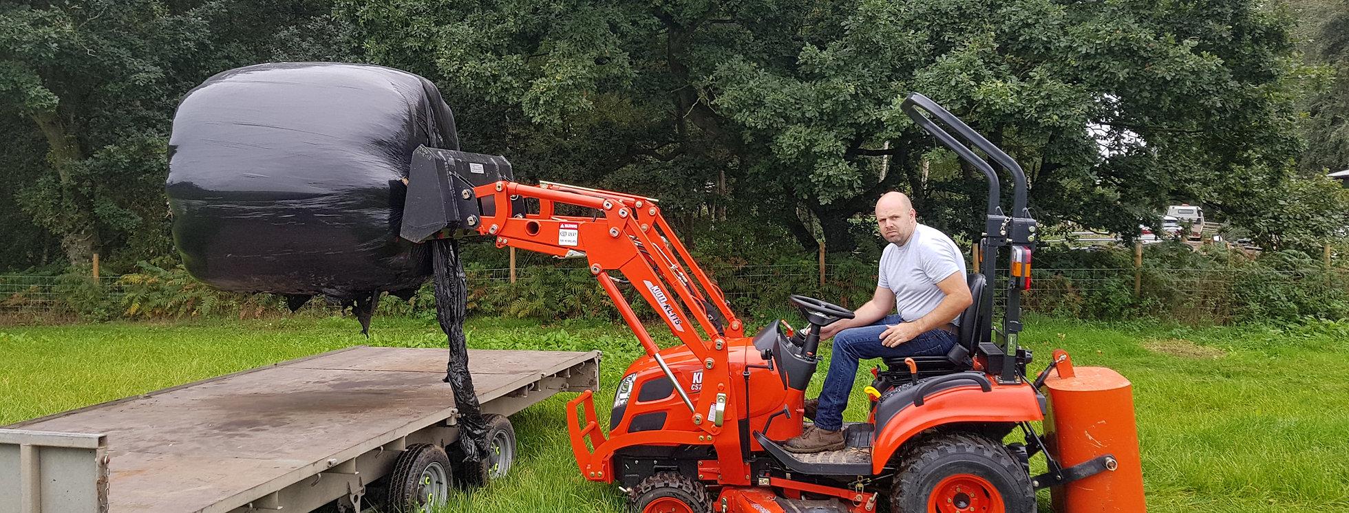 Kioti Tractor Front Loader Tractor