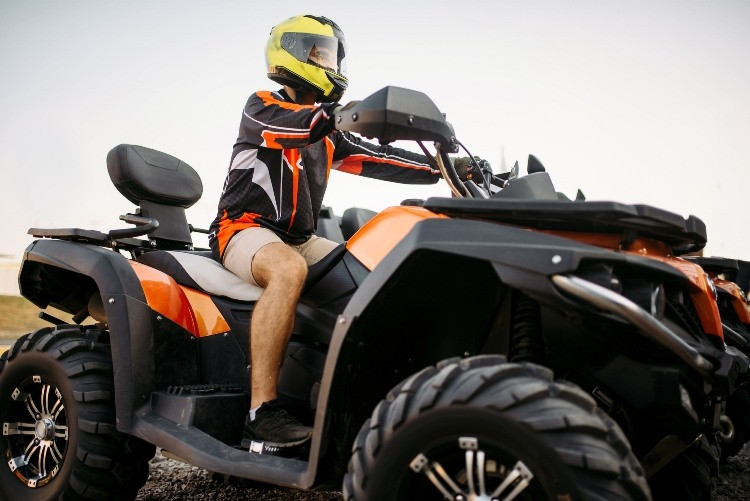 category 1 vehicle type for quad bikes