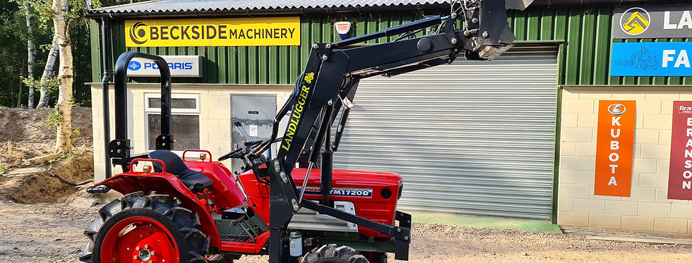 Yanmar Compact Tractor YM1610  4WD with 4IN1 Front Loader