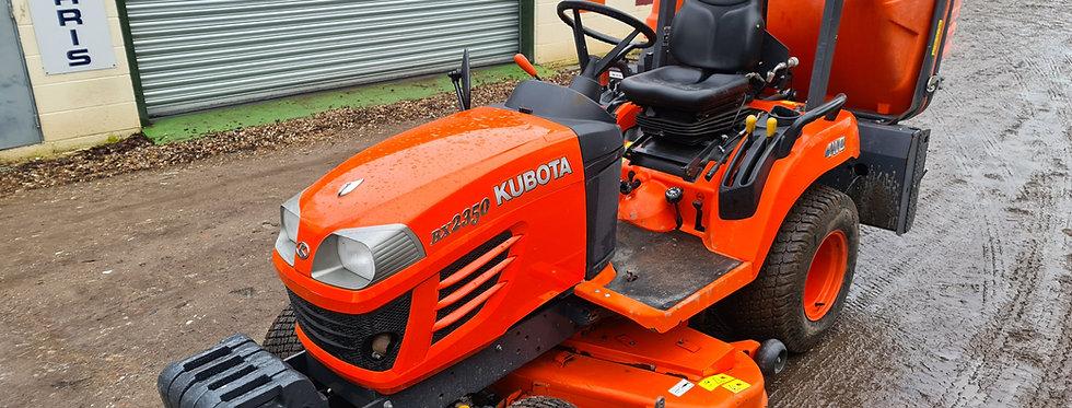 Kubota Compact Tractor BX2350 23HP HST | Compact Tractors For Sale UK