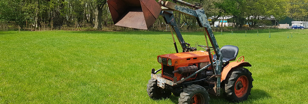 Used Kubota Compact tractor B7100D  With Loader | Tractor With Loader For Sa