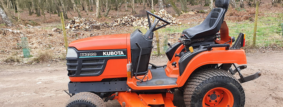 Kubota Compact Tractor BX2200 22HP HST | Compact Tractors For Sale UK
