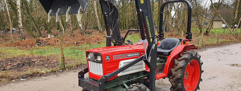 YMG2000DT Used Yanmar Compact Tractor With Loader | Tractor With Loader F