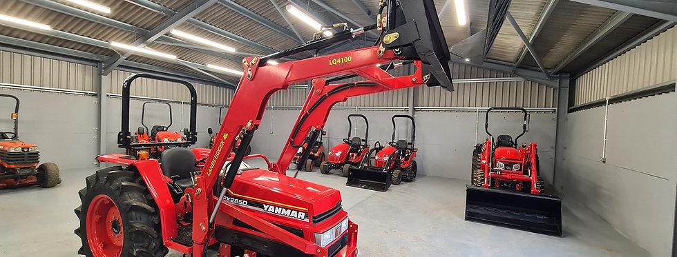 Yanmar Compact Tractor FX285DT 4WD with Front Loader