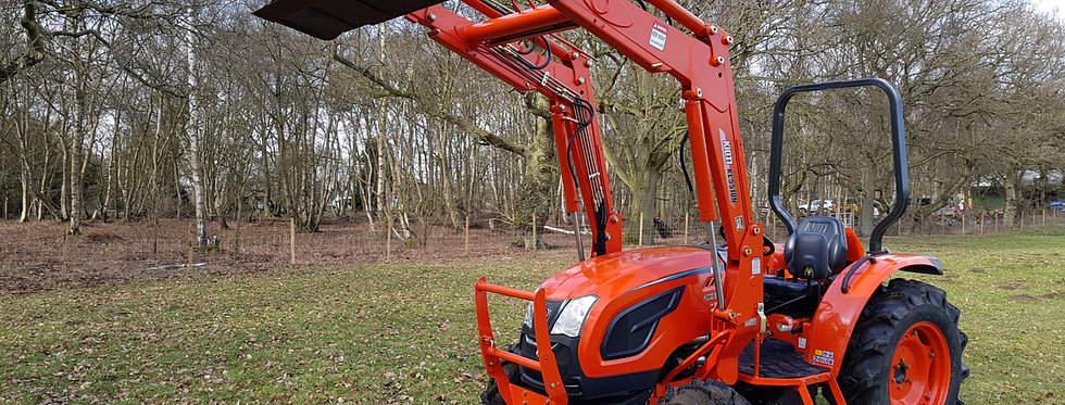 Kioti Tractor DK5510 Very Large Compact Tractors For Sale UK