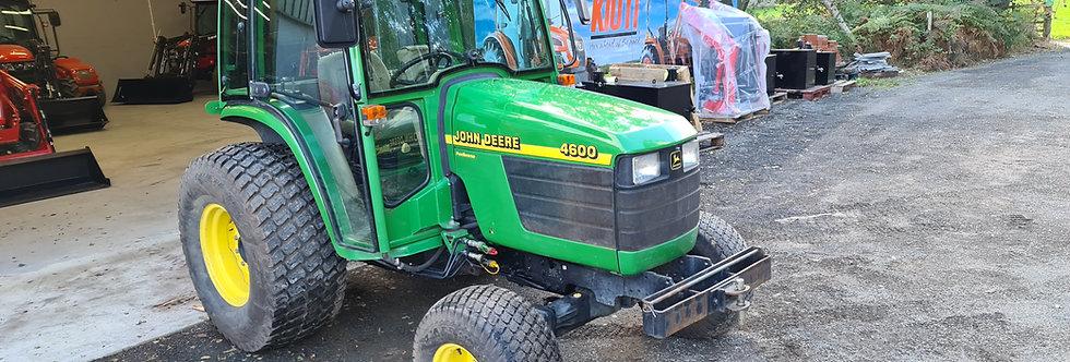 John Deere Compact Tractor 4600 Cab