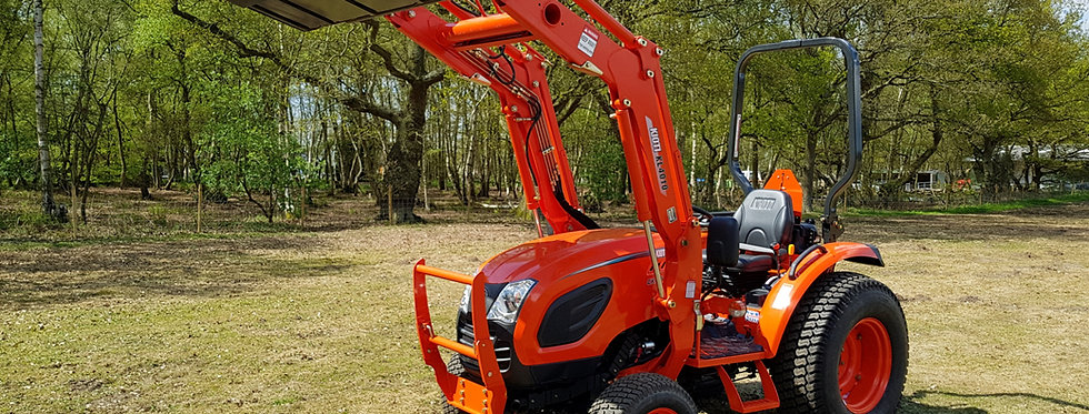 Kioti Tractor CK4010 Front Loader Tractor | Compact Tractors For Sale UK