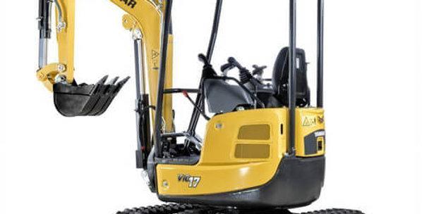 ViO25 Series Yanmar Mini Excavator