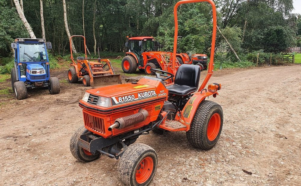 The best compact tractors for sale in the UK