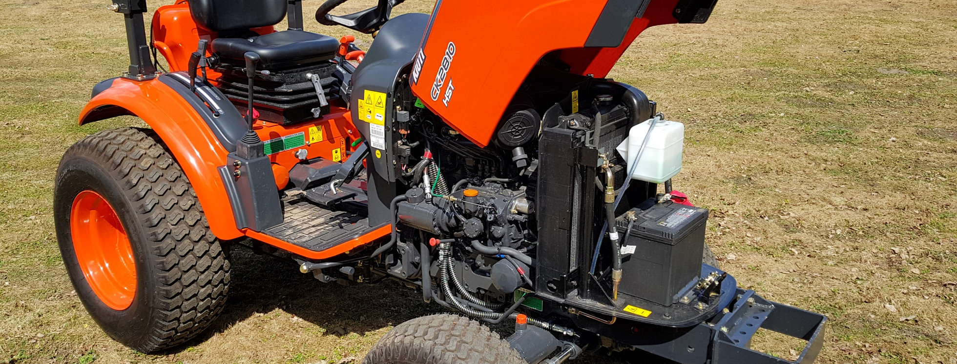 Kioti CK2810 Hydrostatic Compact Tractor For Sale UK